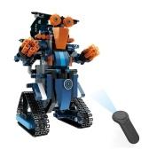 BB13002 M2 349PCS DIY 2.4G Smart Remote Control Building Block RC Robot giocattolo