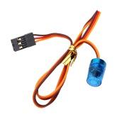AX-511BL RC multi-funzione circolare Ultra Bright polizia auto LED con effetto stroboscopico-sabbiatura lampeggiante veloce-lento modo rotante