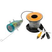 15 متر هد 1200TVL كتف كاميرا تحت الماء السمك الباحث عن الجليد / البحر / نهر الصيد