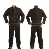 Heat Resistant Split Cowhide Leather Welding Clothes