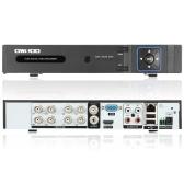 OWSOO 8 ch H.264 1080p P2P ネットワーク DVR CCTV セキュリティ電話制御モーション検知メール アラーム監視カメラを