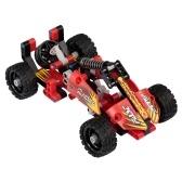127pcs DIY Racing Спортивные автомобили Модельные строительные игрушки