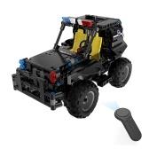 BB13005 336PCS DIY вооруженный патрульный автомобиль