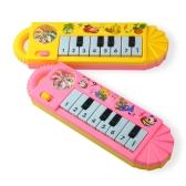 1個のかわいい赤ちゃんキッド人気のピアノ楽器 - 色ランダム
