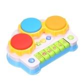 音楽玩具音楽ピアノキーボードドラム電子学習玩具楽しい幼児の赤ちゃんの子供のための遊び教育ゲーム赤