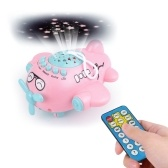 Baby Music Projector Sleeping Story Night  Light Aircraft