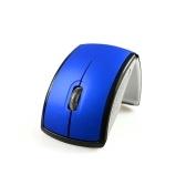 Souris sans fil 2.4G pliable pour ordinateur portable bureau bureau