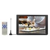 D12 11.6 pulgadas Reproductor multimedia portátil Receptor de sintonizador de TV DVB-T2