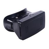 "Versão portátil de plástico 3D VR óculos de realidade Virtual DIY 3D VR vídeo óculos com correia de mão interruptor magnético para todos 3.5 ~ 6.0"" telefones inteligentes"