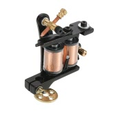 1pc machine de tatouage de tatouage professionnel moteur Shader & Liner en alliage de zinc Body Tattoo Machine Gun Noir