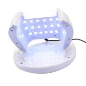 60W УФ-светодиодный фонарик для ногтей Двойной источник света