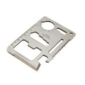 1pc 11-in-1 Cutter de cartes multifonctions en dents de scie
