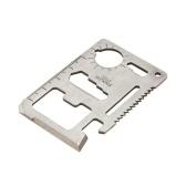 1pc 11-in-1 Cutter de carte multifonction double en dents de scie