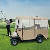 4人フェアウェイゴルフカー用TOMSHOO 4両面ゴルフカートカバーエンクロージャ