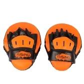 Boxeo mano objetivos punteado de espuma curva almohadilla mitones foco objetivo huelga almohadilla almohadilla entrenamiento Mitt guantes