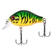 Blusea 1 pz 2 pollice 8.3g Mini Crankbait Galleggiante Richiamo di Pesca Crank Bass Bait Wobbler Fishing Lure Hard Fishing Lure Bait