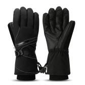 熱い冬の手袋長い手袋のサイクリング手袋