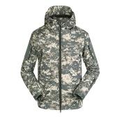 Мужская наружная с капюшоном ветрозащитная куртка
