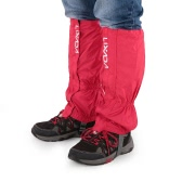 Lixadaワンペアゲートルの屋外ユニセックスジッパー閉鎖は着用し、防水布ゲートルレギンスカバーバイクスノーボードハイキングのために