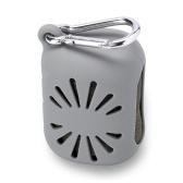 シリコンケース付き圧縮ミニクイックドライタオル