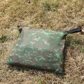 3 * 3m camuflaje exterior impermeable toldo Camping colchón estera de múltiples funciones