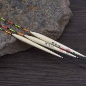 Flotte de pêche 3pcs Bobbers Barr bois outils de pêche