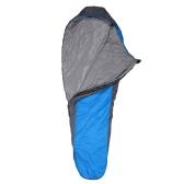 210 * 83cmのNaturehikeポータブルアウトドアキャンプ用寝袋 春夏秋のために適用 ブルー
