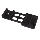 Cámara pistola de Weaver Picatinny Rail montaje lateral para Gopro 1 2 3 3 + 4