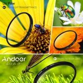 キヤノン ニコン デジタル一眼レフ カメラ用 Andoer 52 ミリメートル UV 紫外線フィルター レンズ プロテクター
