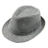 Moda hombres mujeres casuales Fedora sombrero pellizcado playa corona gorra sombrero Panamá Unisex