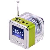 Radio FM di altoparlante del disc di USB del giocatore MP3 / 4 di musica portatile mini di Digitahi TF