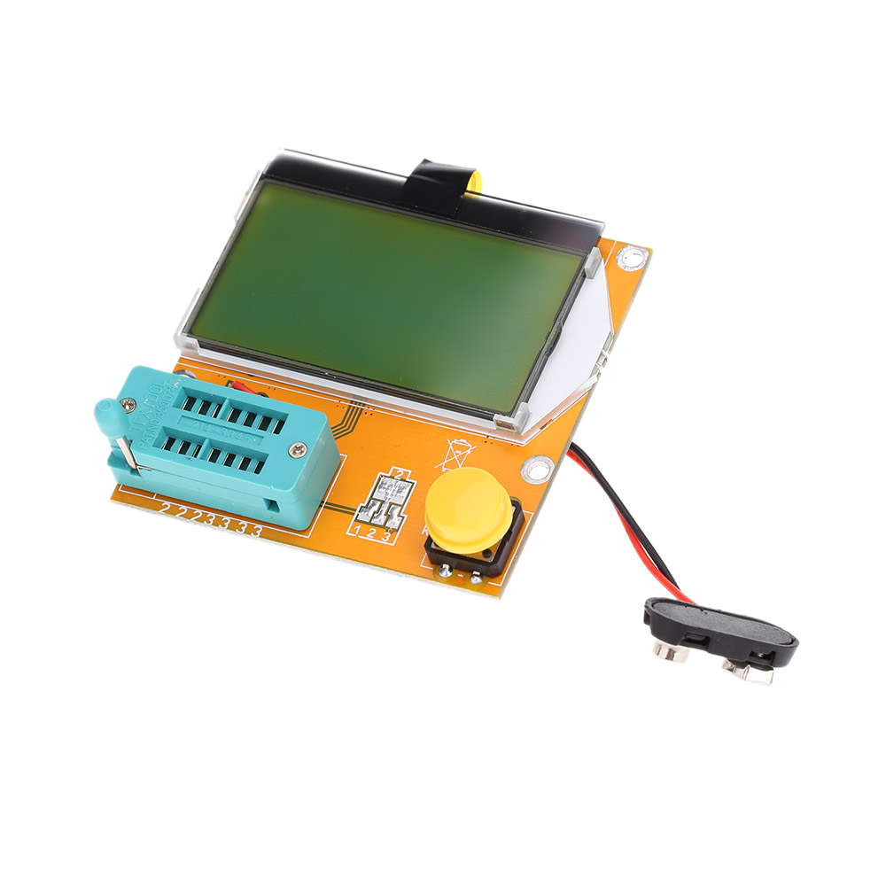 Multi Functional Lcd Backlight Transistor Tester Diode Triode Graphic Display Rlc Esr Meterin Integrated Circuits Capacitance Meter Mos Pnp Npn Lcr Sales Online Orange Errme