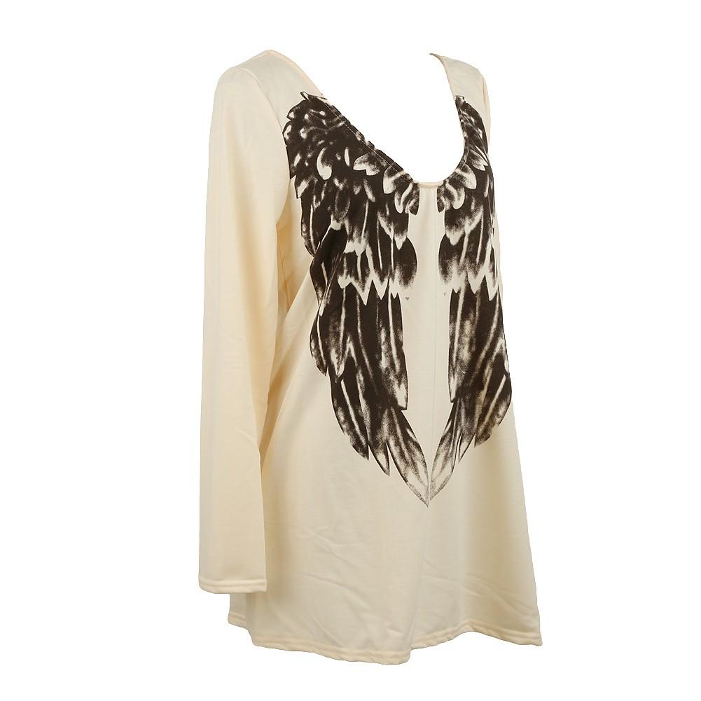 Майка с крыльями angel