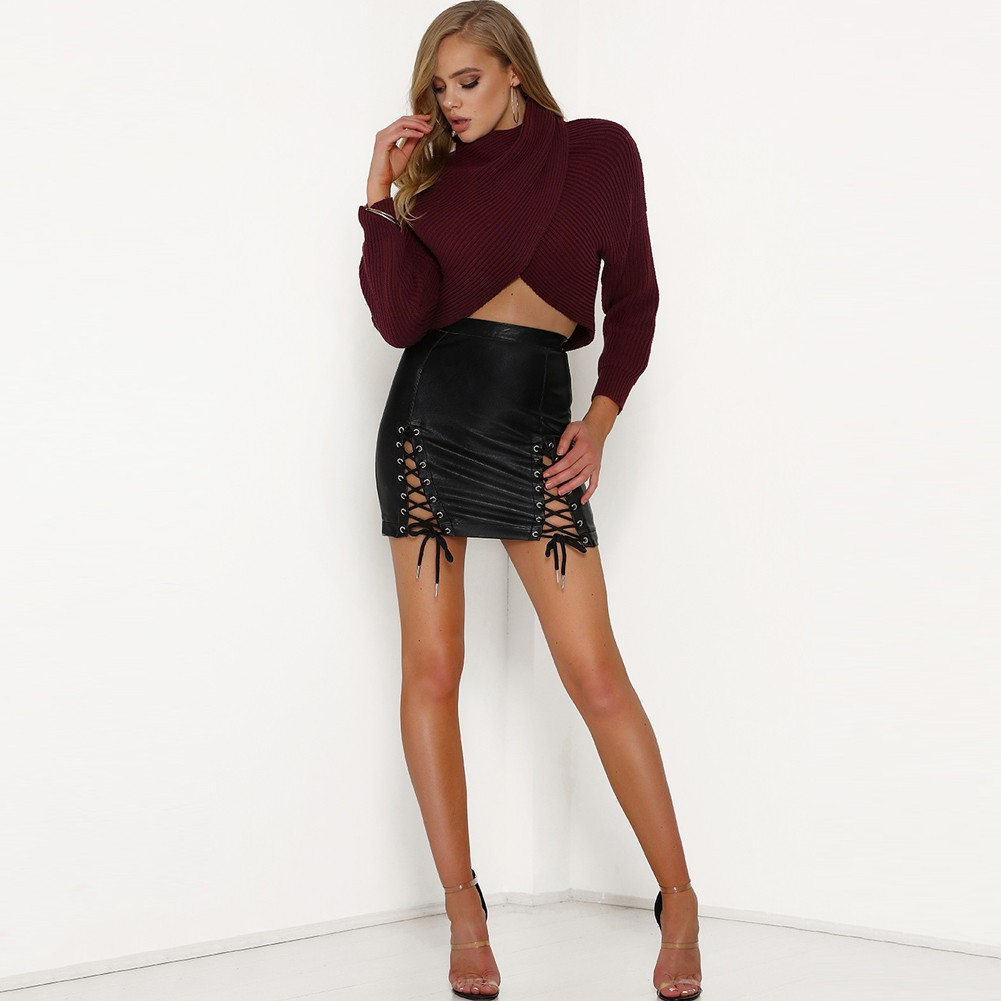 High Waisted Extreme Stretch Pencil Skirt Express