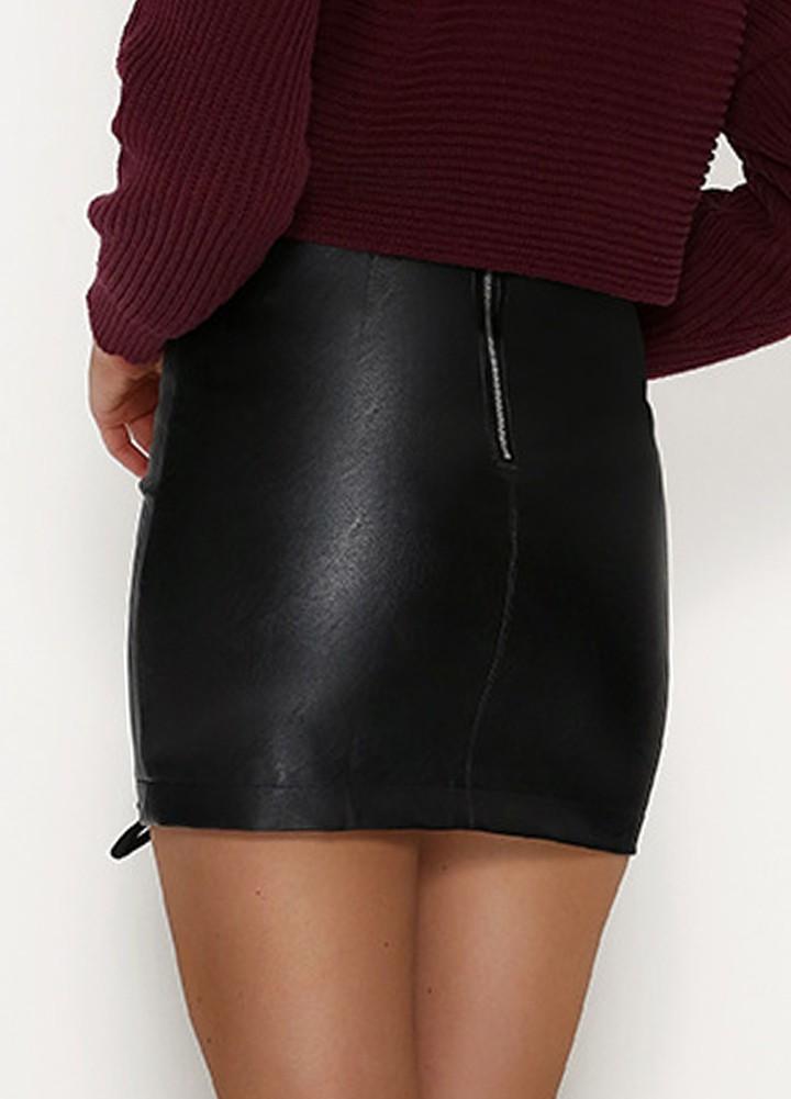 Popular High Waist Black Pencil Skirt-Buy Cheap High