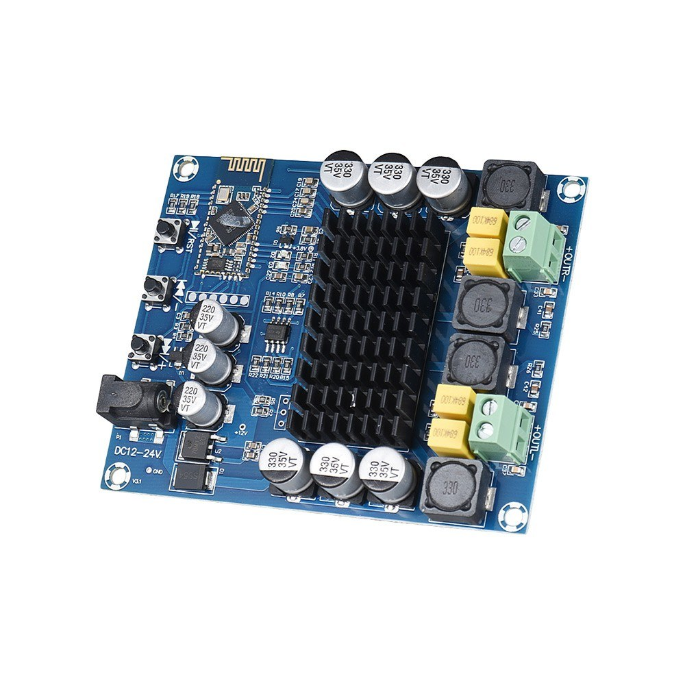 Wireless Bt 40 Dual Channel Audio Power Amplifier Module 120w Circuit Board Buy Product On Digital Stereo Amp Amplify Diy For Car Vehicle Computer Speaker