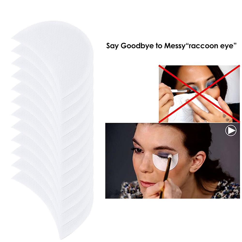 Under eye makeup shield