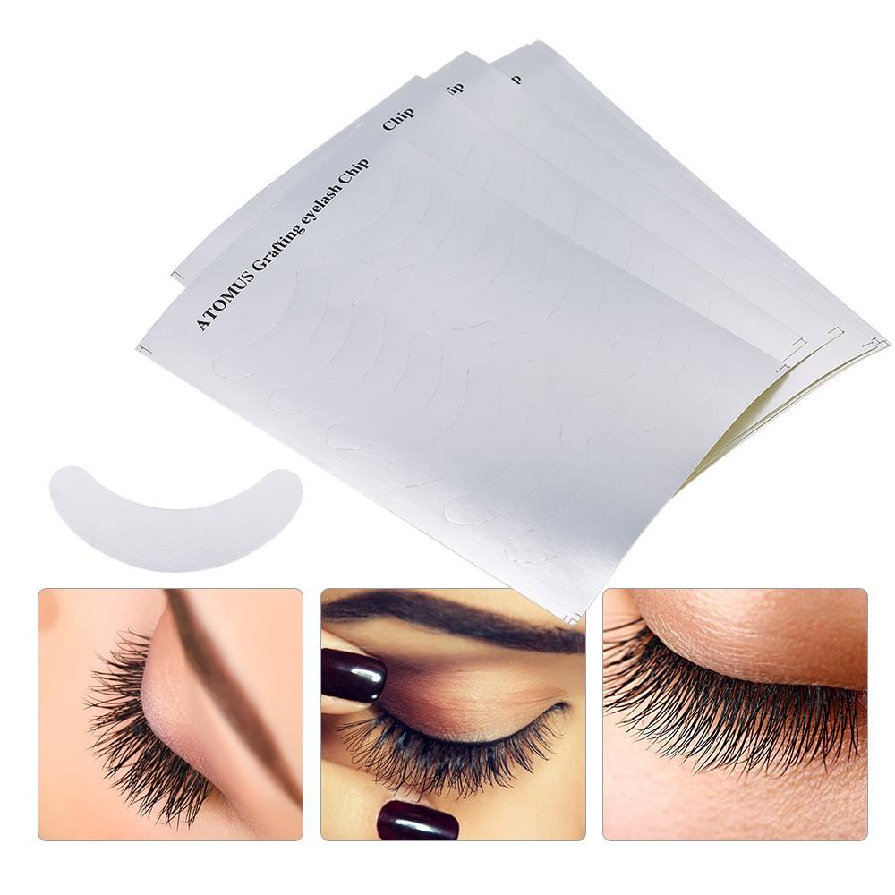 Under eye makeup pads