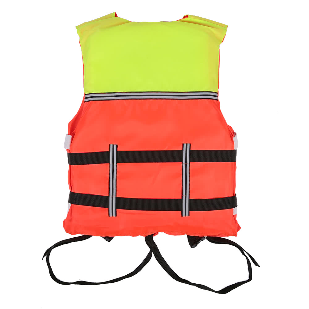Camping & Hiking Boat Work Outdoor Drifting Adult Life-saving Vest Waterproof Adjustable Reflective Jacket Safety Vest Back To Search Resultssports & Entertainment with Life Whistle