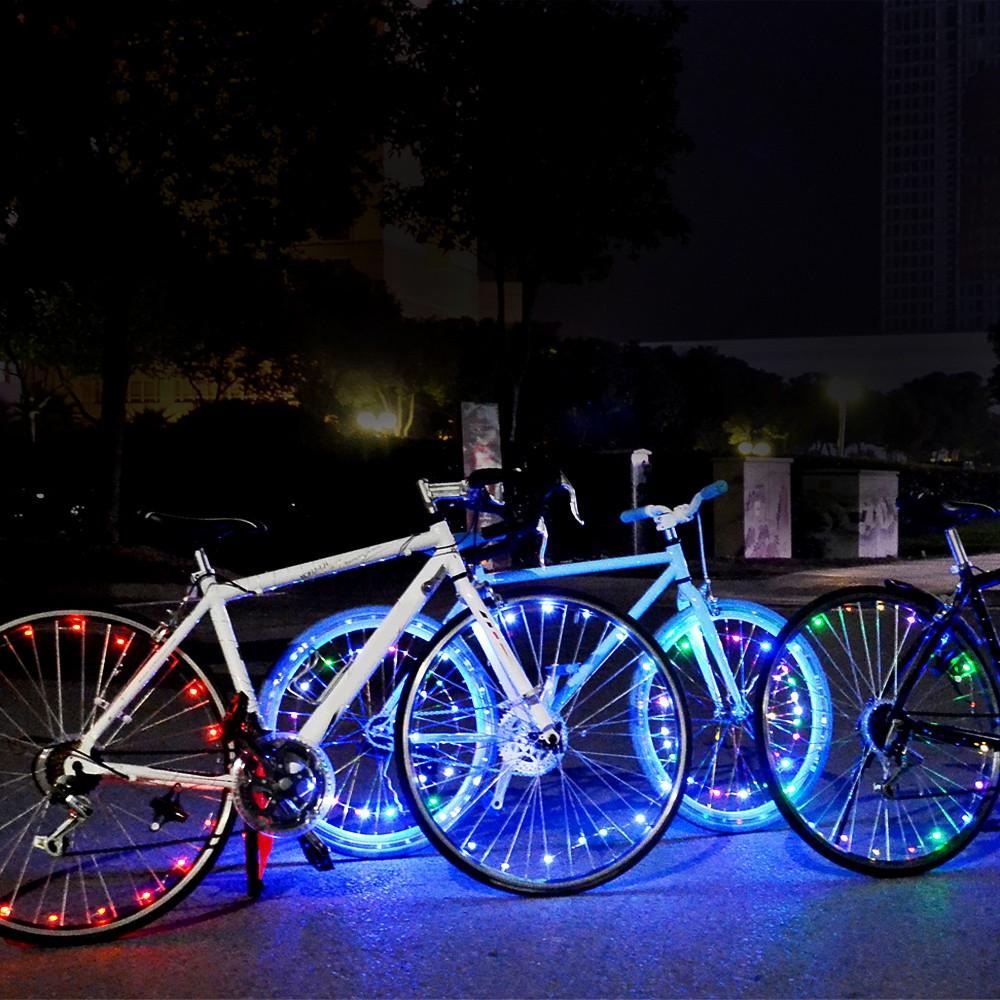 Fahrrad Speichen Beleuchtung Erlaubt | Wiederaufladbare Led Fahrrad Rad Licht Fahrrad Rad Reifen Speichen