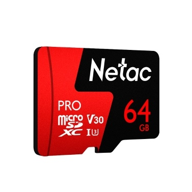 Netac P500 PRO Class 10 64GB Micro SDXC TF Memory Card Data Storage High Speed 98MB/s V30/UHS-I U3