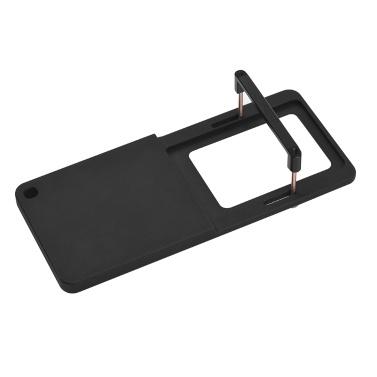 Action Camera Switch Switch Adapter Adapter plaque pour alliage d'aluminium pour GoPro Hero 6/5/4/3 + pour YI 4K pour SJCAM et caméras de sport de taille similaire pour DJI OSMO Mobile pour stabilisateur de cardan portable Zhiyun Smooth 4