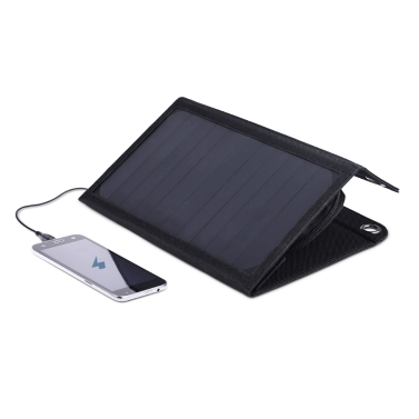 dodocool portátil plegable 12W 10000mAh Dual USB Solar Charger Power Bank