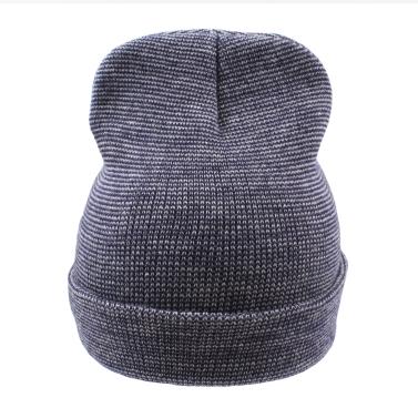 72b30a0f36dcfd New Winter Unisex Women Men Beanie Hat Solid Warm Hip-Hop Cool Knitted Cap  Headwear