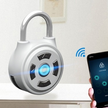 APP Intelligent Password Anti-Theft Padlock