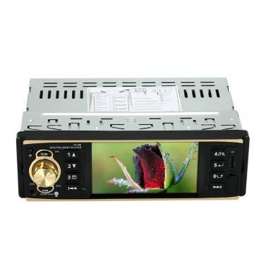 4,1 polegadas Universal TFT HD 1080P BT Car Radio MP5 Player