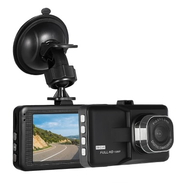 "Cámara de video KKmoon 3 ""DVR 1080P HD Dash Cam para cámara"