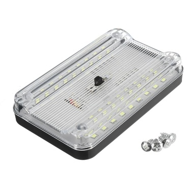 Universal 36LED 12V White Car Interior Lights Dome Roof Ceiling Reading Lights Lamp