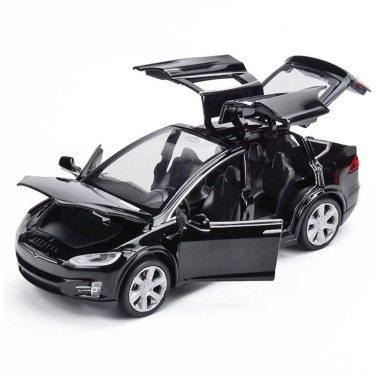 Diecast Toy 1:32 Scale Alloy Cars para Tesla Toy Model