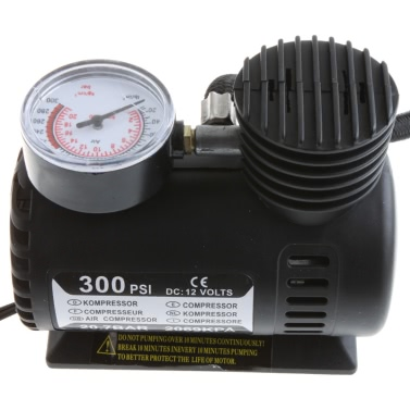 Compressore aria elettrico portatile auto/Auto 12V/Gonfiagomme 300 PSI